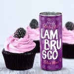 Presto lambrusco red wine cupcakes